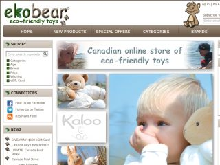 Shop at ekobear.ca