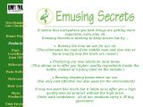 Browse Emusing Secrets Emu Oil Products