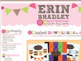 Browse Erin Bradley Designs