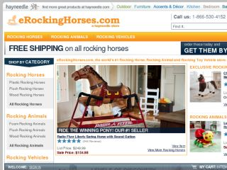 Shop at erockinghorses.com