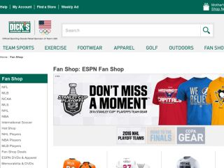 Shop at espnshop.com
