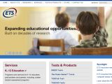 Browse Educational Testing Service