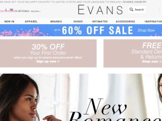 Shop at evans.co.uk