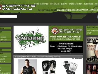 Shop at everythingmma.com.au