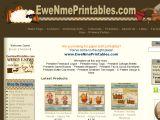 Browse Ewe-N-Me Printables