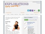 Browse Explorations Early Learning