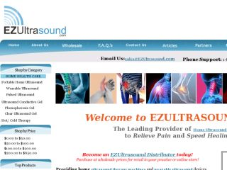Shop at ezultrasound.com