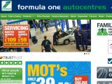 F1autocentres.co.uk Coupon Codes
