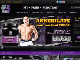 Shop at f3nutrition.com