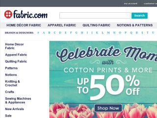 Shop at fabric.com