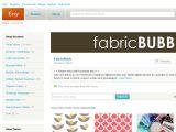 Fabricbubb.etsy.com Coupons