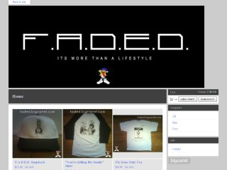 Shop at faded.bigcartel.com
