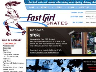 Shop at fastgirlskates.com