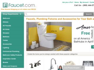 Shop at faucet.com