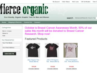 Shop at fierceorganic.com