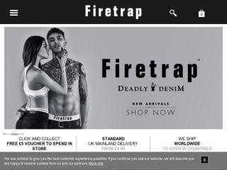 Shop at firetrap.com