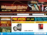 Browse Fisherman's Choice Pro Shop