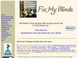 Browse Fix My Blinds