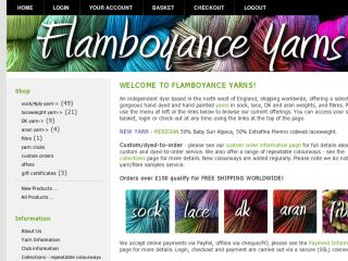 Shop at flamboyanceyarns.co.uk