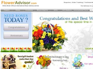 Shop at floweradvisor.com