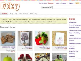 Shop at folksy.com