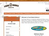 Browse Food Dudes Delivery