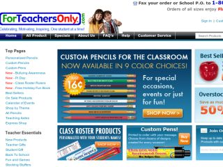 Shop at forteachersonly.com