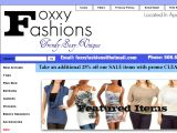 Browse Foxxy Fashions