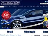 Browse Freedom Waterless Car Wash