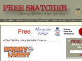 Freesnatcher.com Coupon Codes