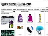 Browse Freeze Pro Shop