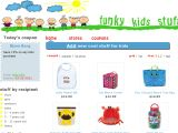 Funkykidsstuff.com Coupon Codes