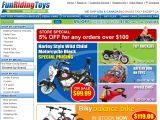 Funridingtoys.com Coupon Codes