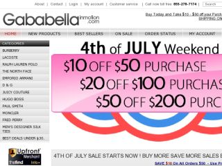 Shop at gababellainmotion.com