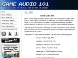 Game Audio 101 Coupon Codes