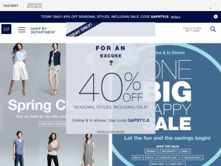 Shop at gapcanada.ca