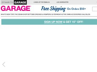 Shop at garage.ca