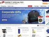 Browse Garrett Specialties