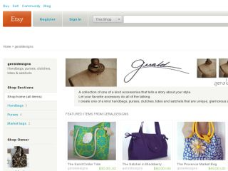 Shop at geraldesigns.etsy.com
