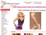 Browse Girlfriends Lingerie