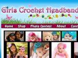 Browse Girls Crochet Headbands