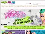 Browse The Official Glamourdolleyes