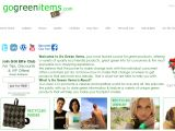Browse Go Green Items