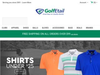 Shop at golfetail.com