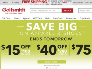 Shop at golfsmith.com