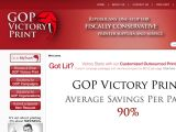 Browse Gop Victory Print