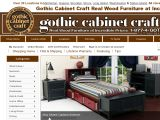 Browse Gothic Cabinet Craft