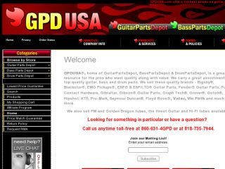 Shop at gpdusa.com