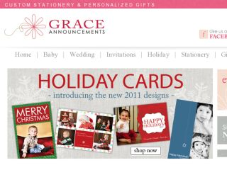Shop at graceannouncements.com