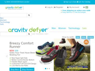 Shop at gravitydefyer.com